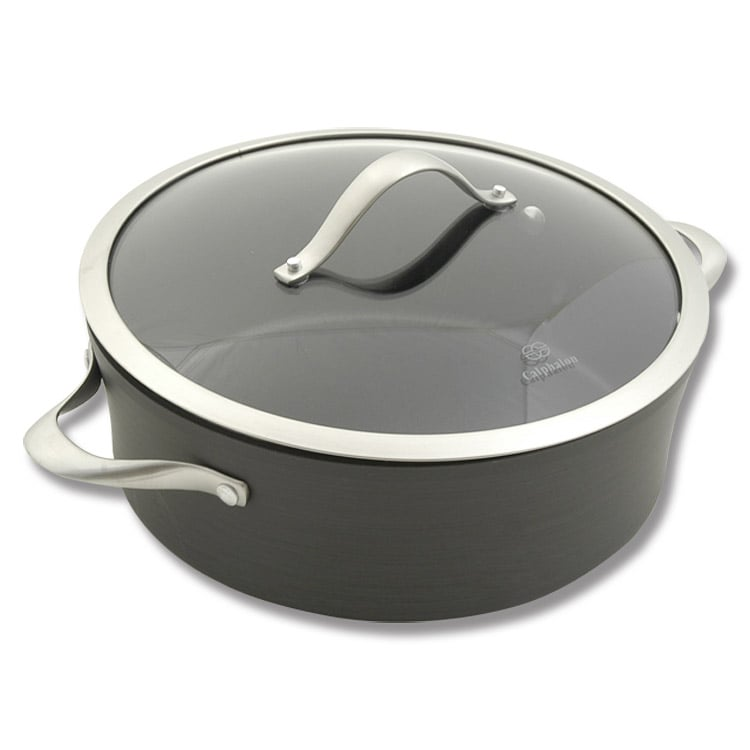 Calphalon Contemporary Nonstick 5 Quart Saucier Dutch Oven