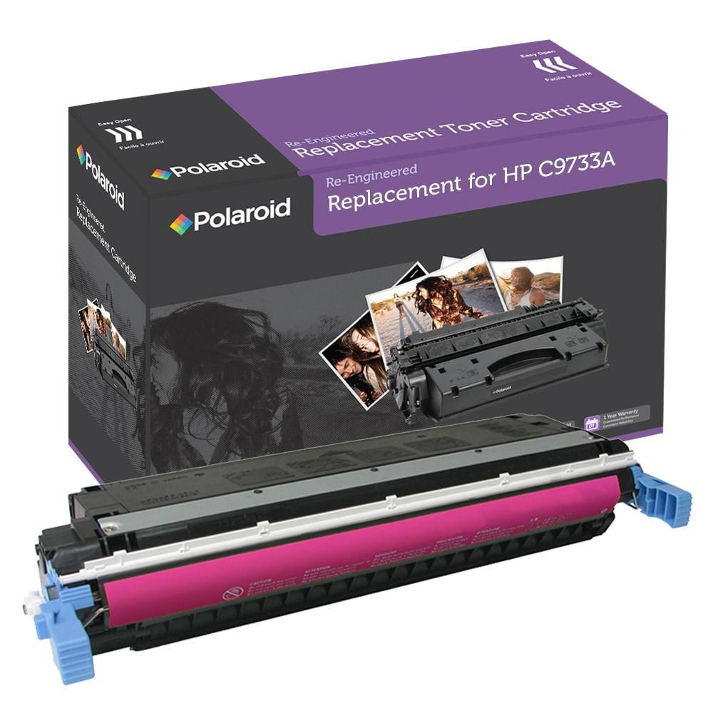 HP 645A Magenta Toner Cartridgeby Polaroid (Remanufactured)