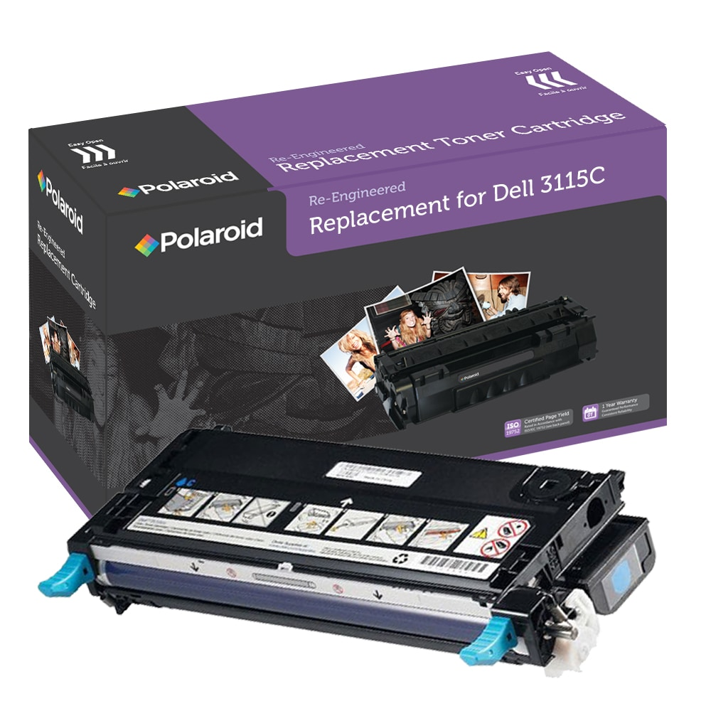 Dell 3110cn/3115cn Cyan Toner Cartridge by Polaroid (Remanufactured)