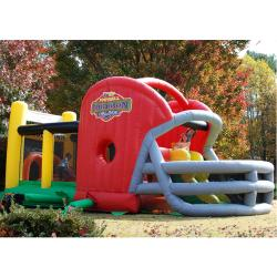KidWise Gridiron Football Challenge Game Day Commercial Bounce House - Thumbnail 1