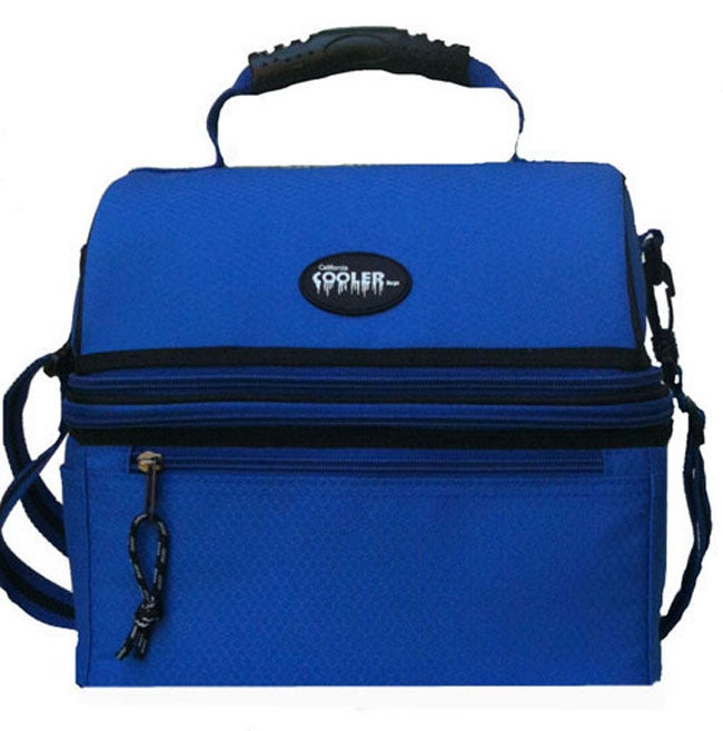 California Cooler Deluxe Royal Blue Insulated Lunch Bag
