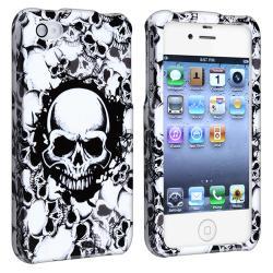 White Skull Snap-on Case for Apple iPhone 4/ 4S - Thumbnail 1