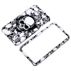 White Skull Snap-on Case for Apple iPhone 4/ 4S - Thumbnail 2