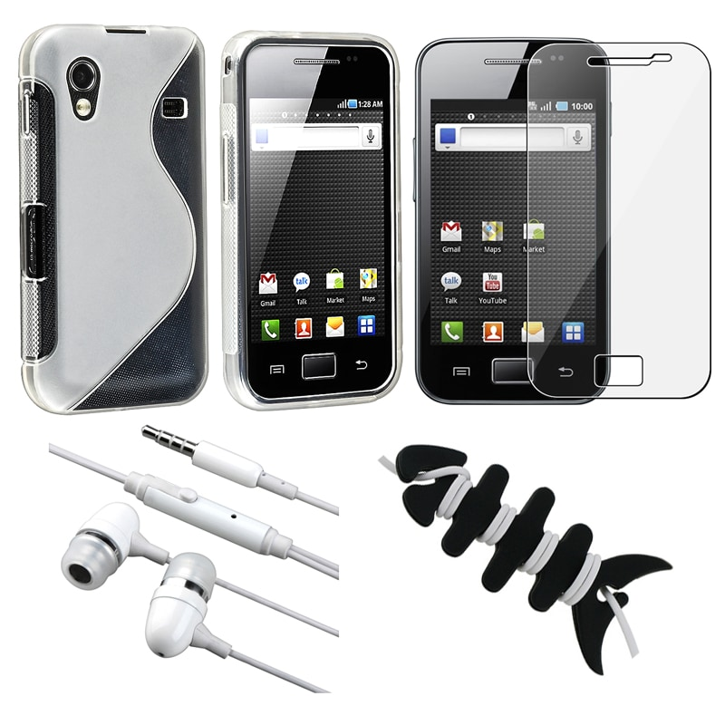 Case/ LCD Screen Protector/ Headset/ Wrap for Samsung Ace GT-S5830