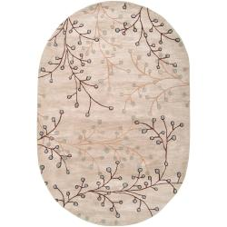 Hand-tufted Edison Wool Rug (8' x 10' Oval)