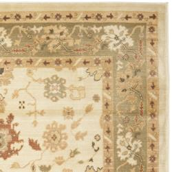 Safavieh Oushak Cream/ Cream Powerloomed Rug (9'6 x 13') - Thumbnail 1