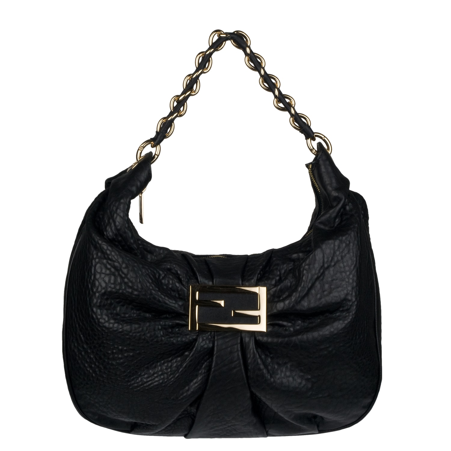 Fendi Leather Hobo