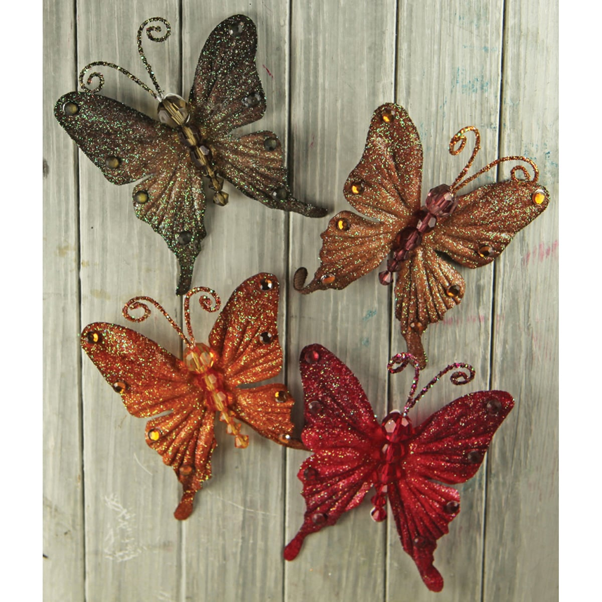 Prima Flowers Forest Fantasy Butterflies (Pack of 4)