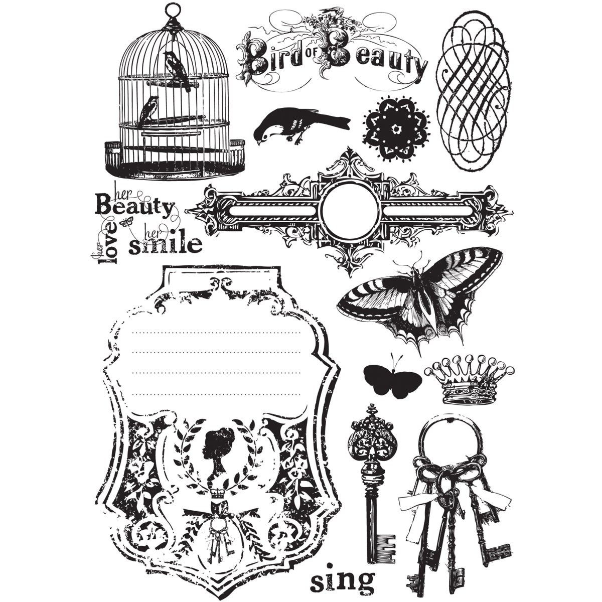 Londonerry Imagenne Cling Stamps