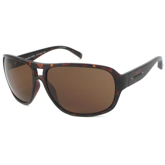 Michael Kors Men's MKS215M Aviator Sunglasses