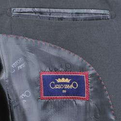 Men's Black 3-Button Vested Suit