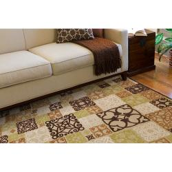 Woven Tyler Natural Viscose/Chenille Area Rug (4' x 5'7)