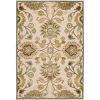 Woven Lauren Ivory Viscose/Chenille Area Rug (7'6 x 10'6) - 7'6 x 10'6