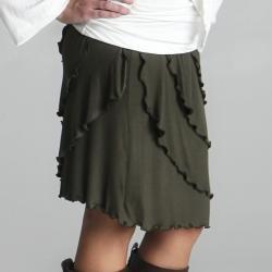 Lilac Clothing Women's Maternity Ruffle Skirt - Thumbnail 2