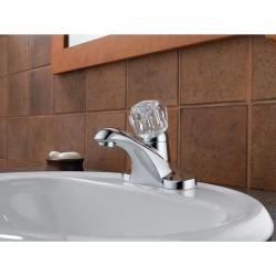 Peerless Single-handle Chrome Lavatory Faucet with Pop-up Drain - Thumbnail 1