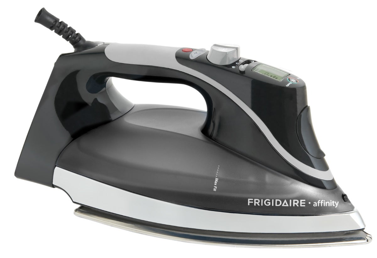 Frigidaire Affinity Classic Black Steam Plus Pro LCD Iron