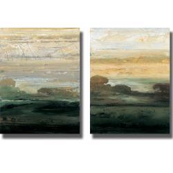 Simon Addyman 'Suffolk Trees I and II' 2-piece Canvas Art Set
