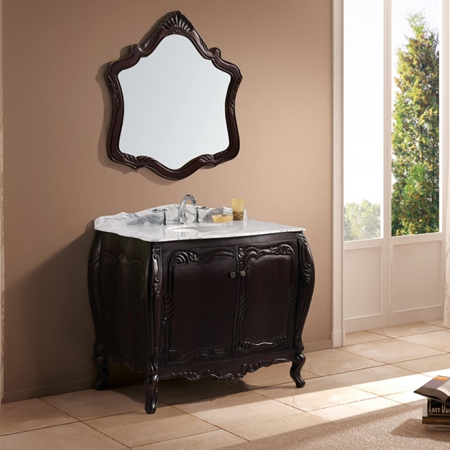 Miraculous Arabella 40 Inch Single Sink Bathroom Vanity Set Home Interior And Landscaping Fragforummapetitesourisinfo