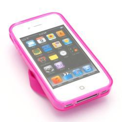 Premium Apple iPhone 4/4S Pink Flip Flop Case - Thumbnail 1