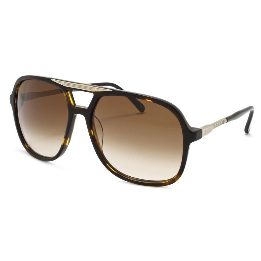Chloe 'Adonis' Women's Dark Tortoise Shell Fashion Sunglasses