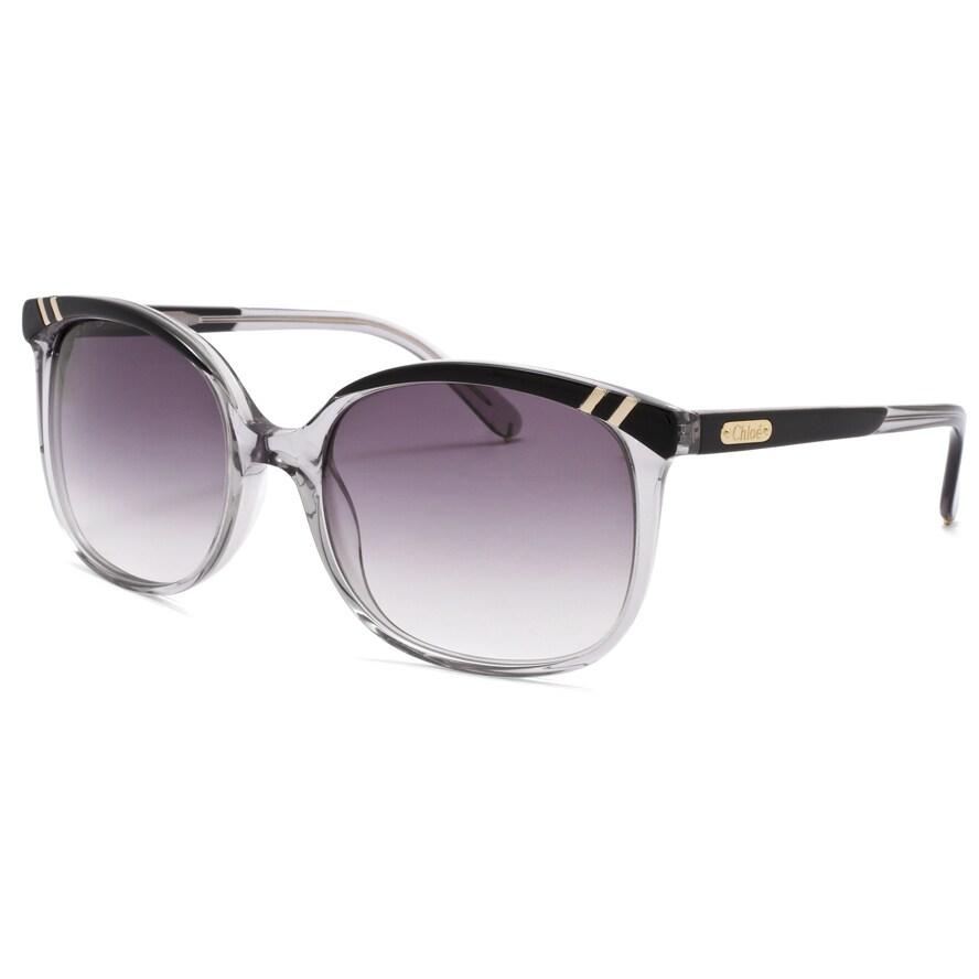 Chloe Women's 'Belladone' Grey Transparent Fashion Sunglasses