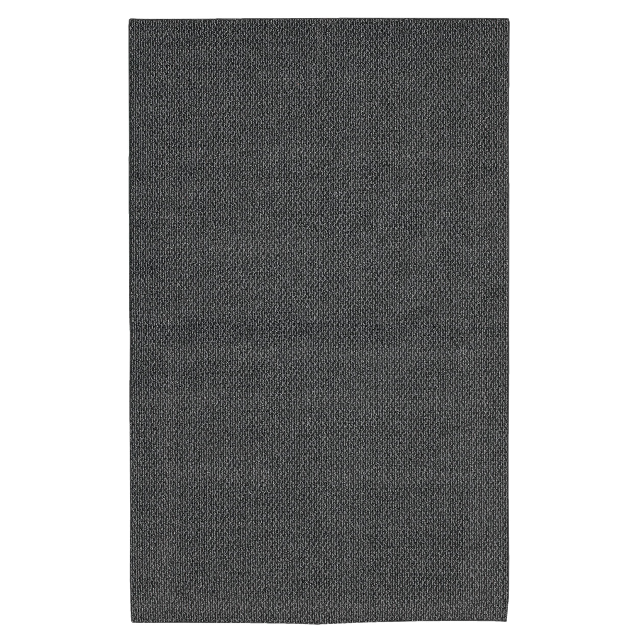 Calliope Berber Charcoal Grey Rug (5' x 7')