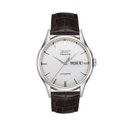 Tissot Men's T0194301603101 'Heritage Visodate' Automatic Brown Leather Watch