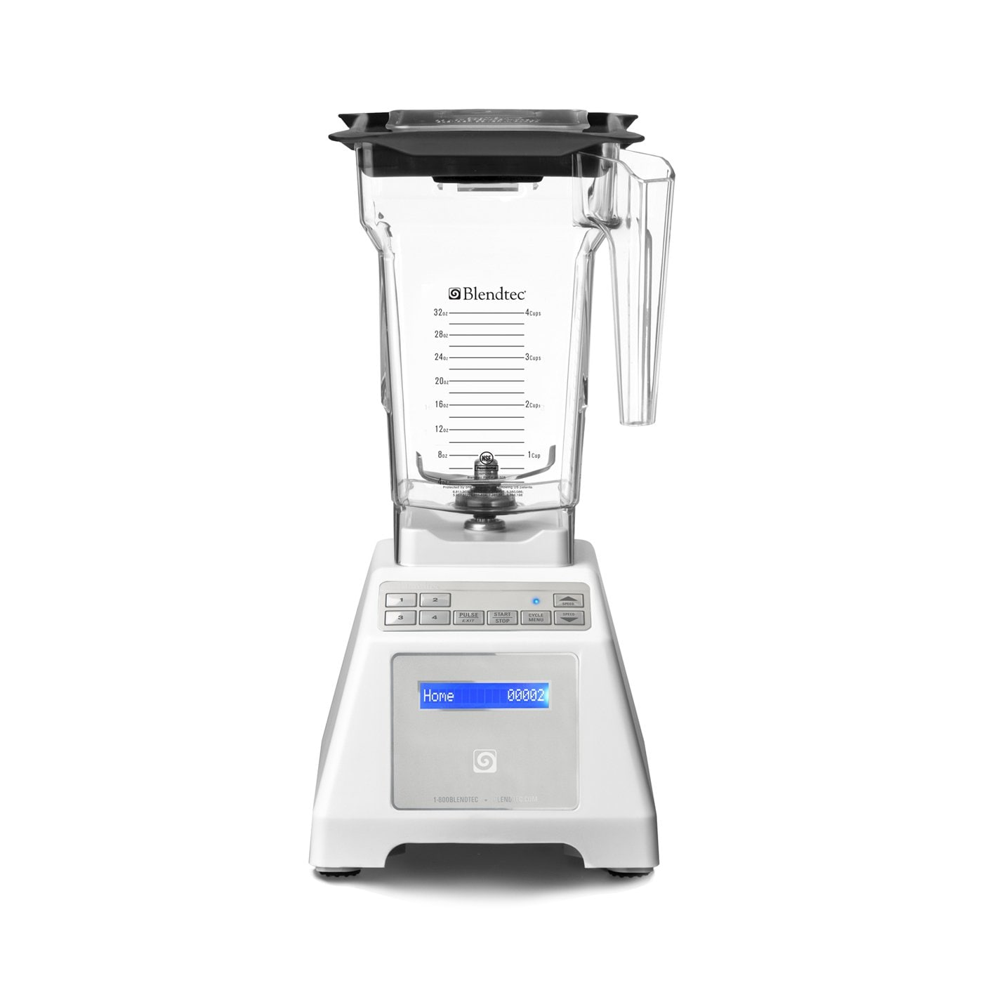 Blendtec White Wildside Blender
