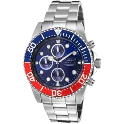Invicta Men's 'Pro Diver' Water-Resistant Stainless-Steel Watch