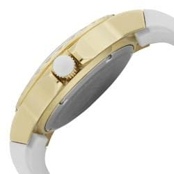 a_line Women's 'Marina' White Silicon Watch - Thumbnail 2