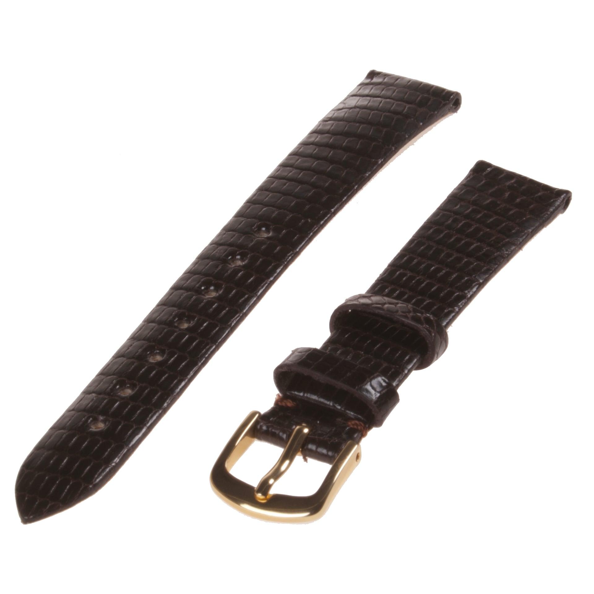 Republic Women's Genuine Java Lizard Leather Watch Band