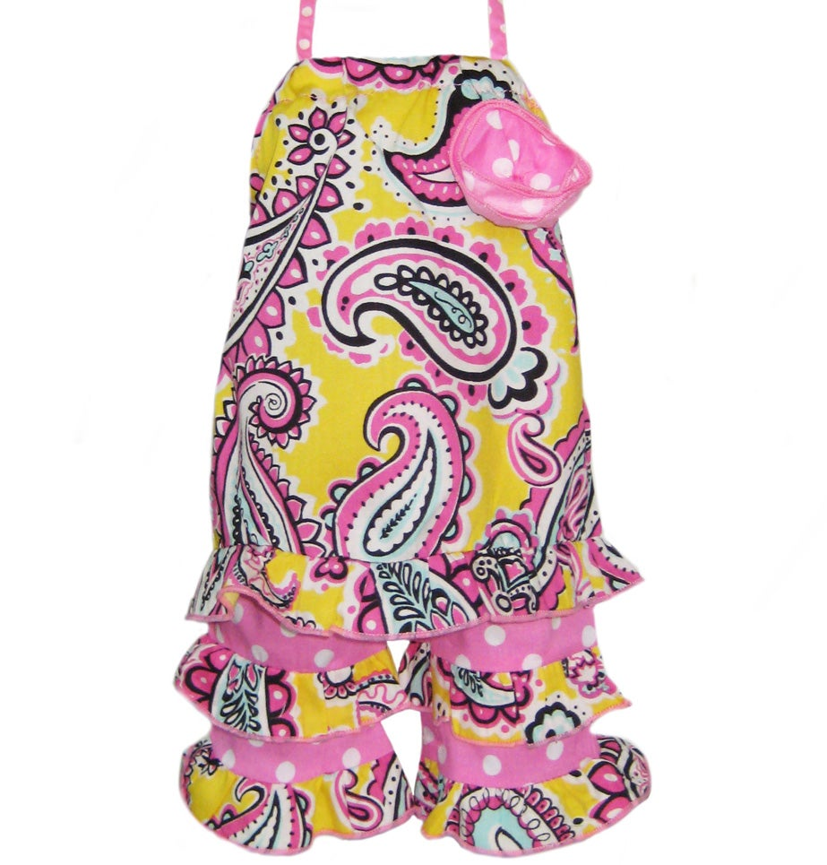 AnnLoren 2-piece Paisley American Girl Doll Outfit