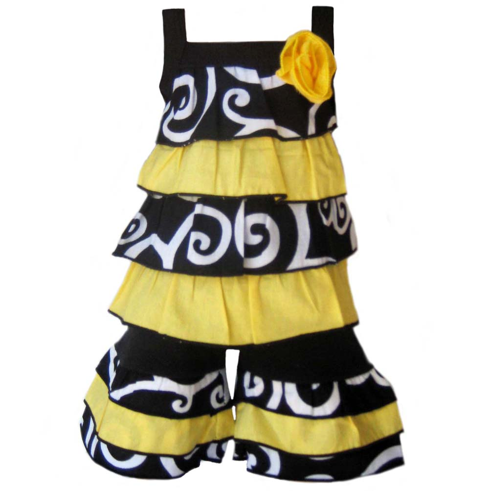 AnnLoren 2-piece Bumble Bee American Girl Doll Outfit