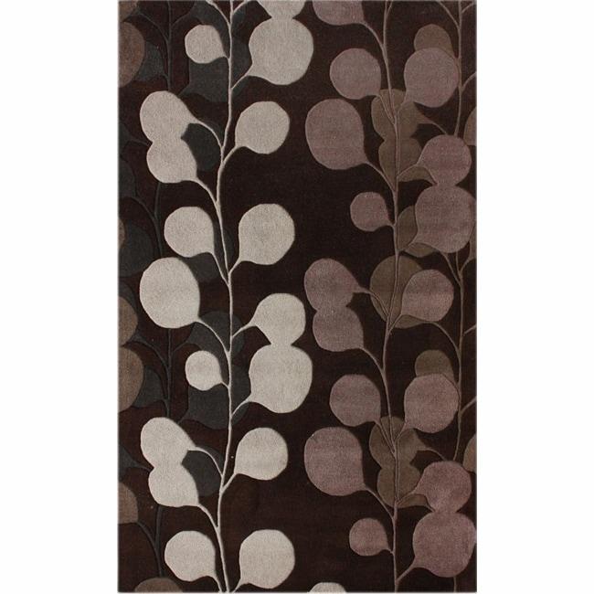 nuLOOM Handmade Blossom New Zealand Wool Rug (5' x 8')