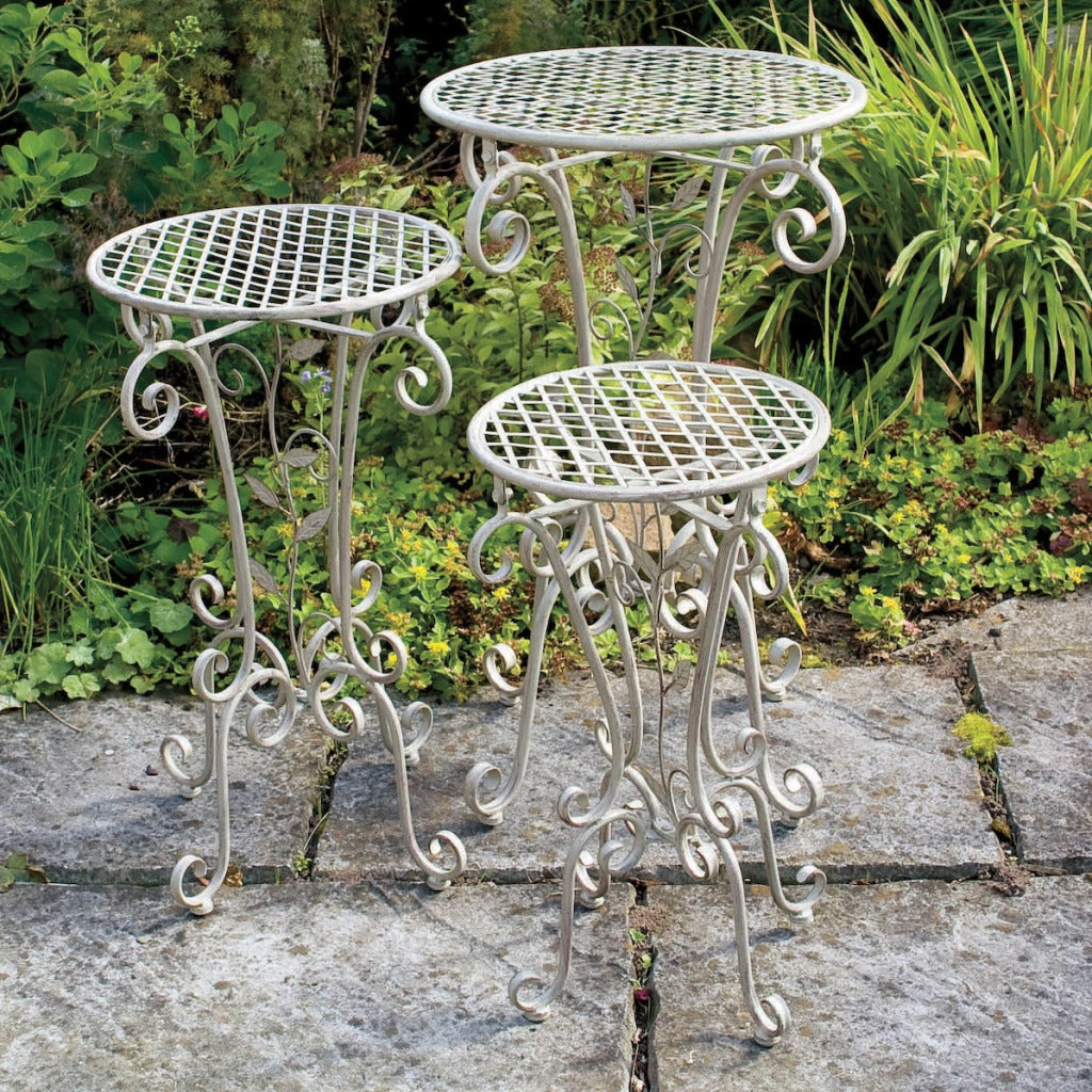 Laura Ashley Chestnut Decorative Plant Stands (Set of 3) - Shop Laura Ashley Chestnut Decorative Plant Stands (Set Of 3) - Free