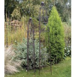 Garden Obelisk Laura Ashley Square Set of 2