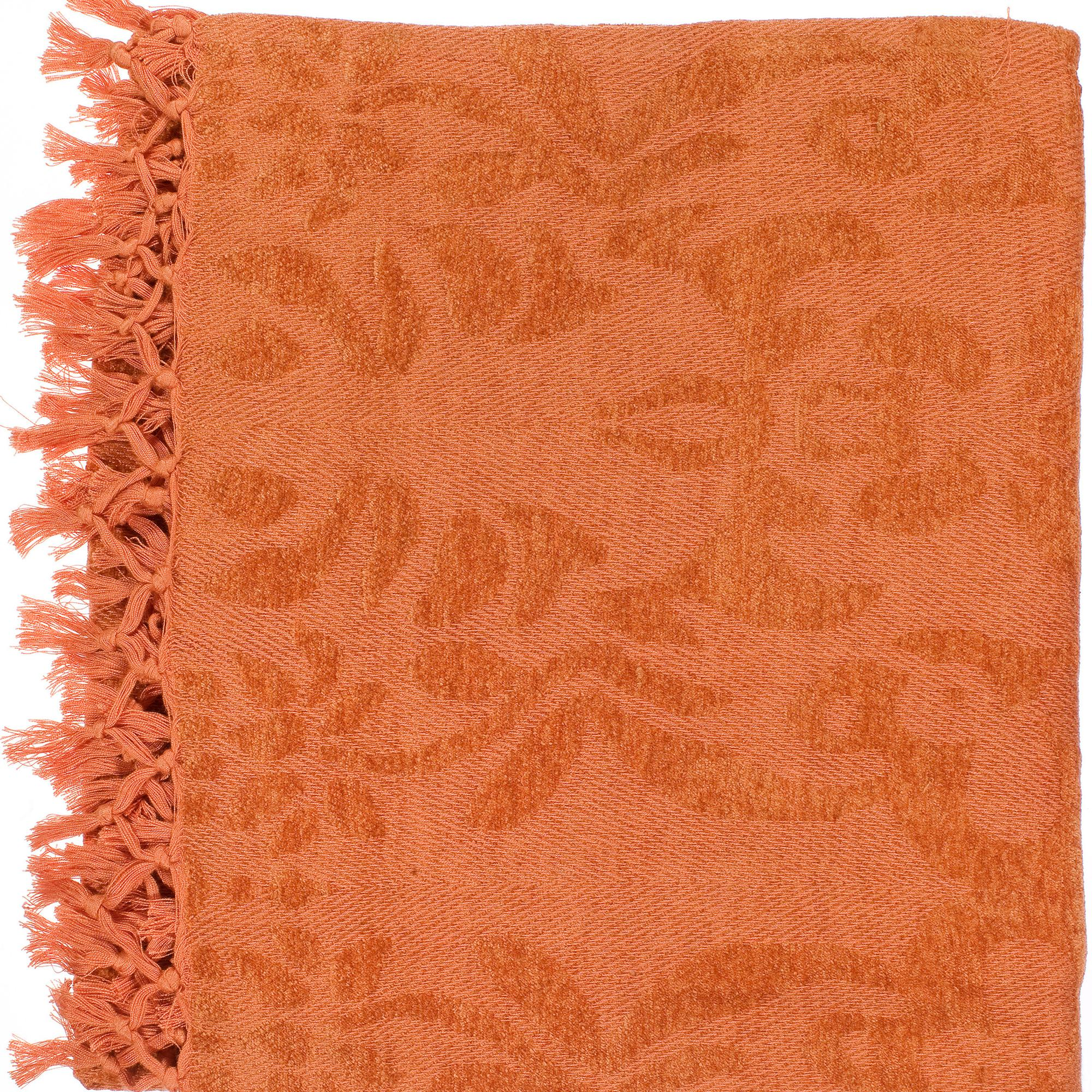 "Woven Yeshiva Viscose Throw Blanket (50"" x 70"")"