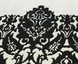 nuLOOM Handmade Italia Damask Ivory Wool Rug (7'6 x 9'6) - Thumbnail 2
