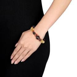 Quartz and Pearl Stretch Bracelet (6-9 mm) - Thumbnail 2