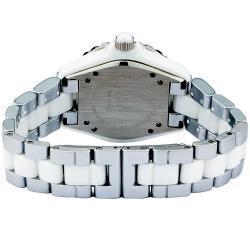 Akribos XXIV Midsize Women's Two-tone Ceramic Bracelet Watch - Thumbnail 1