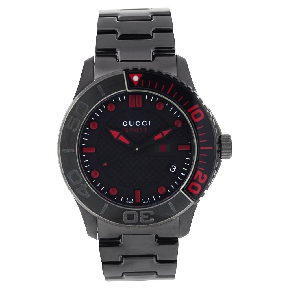 ae5a443470b Shop Gucci Men s Sport Watch - Free Shipping Today - Overstock - 6281481