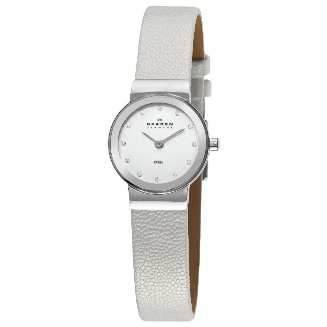 Skagen Women's Mother of Pearl Dial Steel Watch