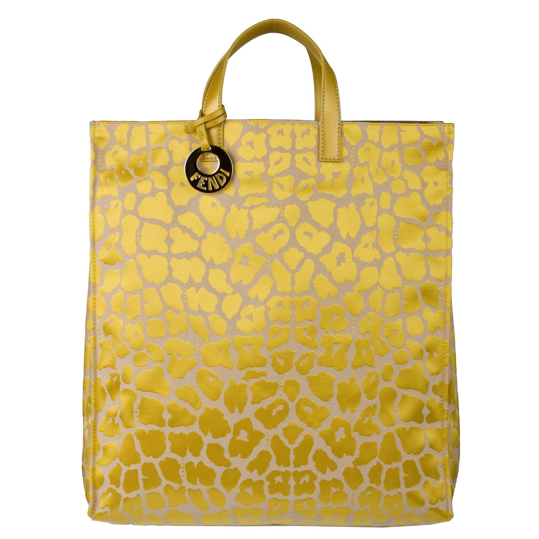 ireland fendi 8bh173 00a07 f0vlr yellow jaguar print tote bag 83fe3 a5bc9 8710a7fa551b2
