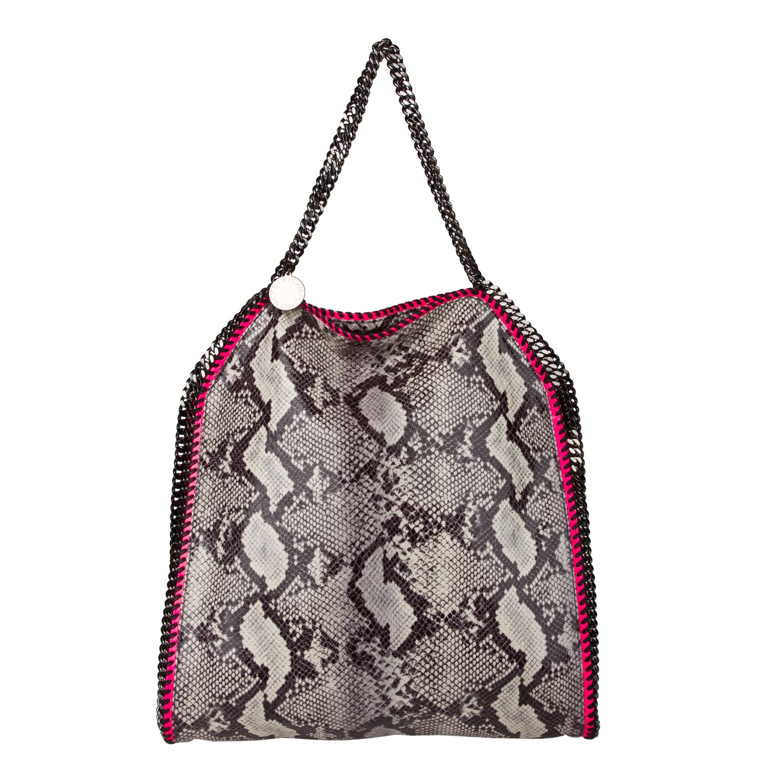 Stella McCartney Faux Python Large Tote