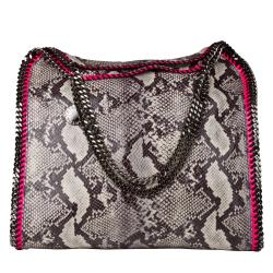 Stella McCartney Faux Python Large Tote - Thumbnail 1