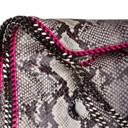 Stella McCartney Faux Python Large Tote - Thumbnail 2