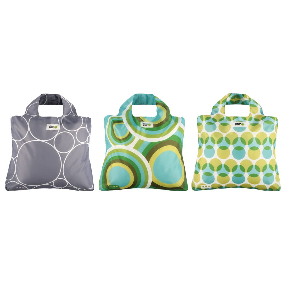 Envirosax 'Planet Green' 3-bag Reusable Pouch