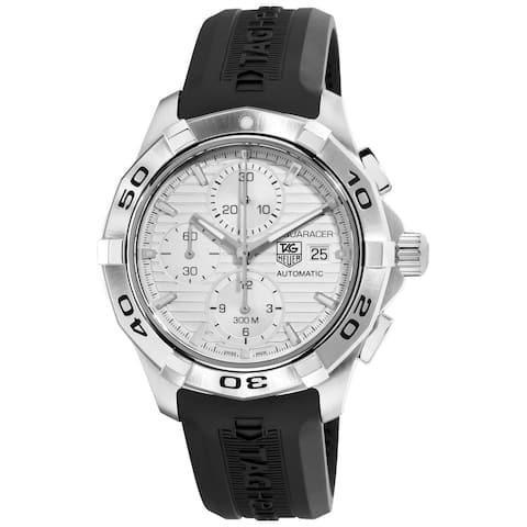 Tag Heuer Men's CAP2111.FT6028 'Aquaracer' Chronograph Automatic Black Rubber Watch