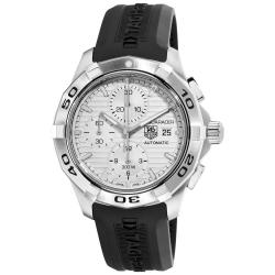 Tag Heuer Men's 2000 Aquaracer Silver Chronograph Dial Watch