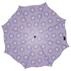 Laura Ashley Fun Roundswood Pale Lavender Umbrella - Thumbnail 1